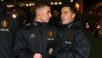thorgan hazard reveals details of annual bet with chelsea star & older brother eden