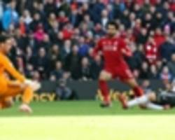 liverpool 2 fulham 0: salah and shaqiri see off strugglers