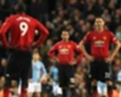 not just second best but second class - man utd get the derby drubbing they deserve