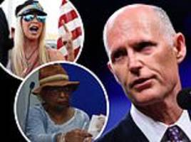 florida election recount underway, tensions rise as rick scott's campaign announces three lawsuits