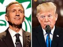 former starbucks ceo, howard schultz,  reportedly eyes running for president in 2020