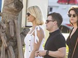Holly Willoughby spends quality time with Declan Donnelly ahead of co-hosting I'm A Celebrity