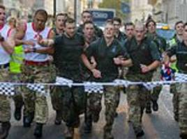 Royal Marines denied their place in history – for wearing the wrong trousers