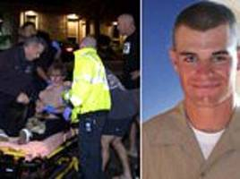us marines say they have no record of california gunman telling doctors was suffering from ptsd