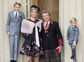 penny lancaster shares bullying agony of her and rod stewart's 12-year-old son