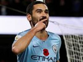 manchester city 3-1 manchester united: gundogan seals derby victory