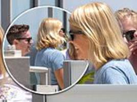 Holly Willoughby and  Declan Donnelly share laughter-filled meeting ahead of I'm A Celebrity