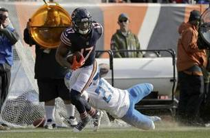 Lions' secondary unable to stop Trubisky in loss to Bears