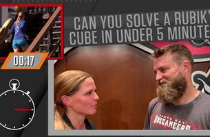 Ryan Fitzpatrick talks beards, his Rubik's cube talent, and more | 1 UP 1 DOWN WITH SHANNON SPAKE
