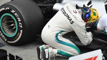 Lewis Hamilton wins after Max Verstappen collision in Brazil