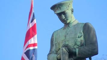 armistice day: how wales paid its respects to the fallen