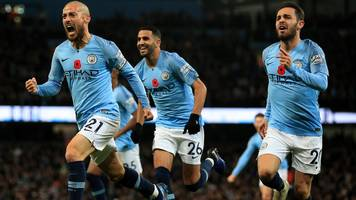 man city 3-1 man utd: hosts claim deserved derby victory & go back top