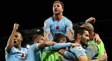 did man city score 'the perfect goal'? reaction to move that took up 2.13% of match