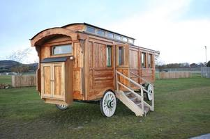 cowboy-daft scot renting out £50k wild west wagon to guests in the highlands