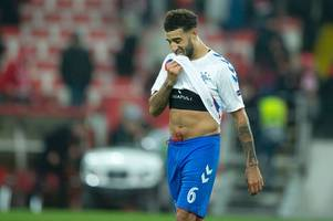 steven gerrard insists rangers star connor goldson's chest issue not linked to previous heart condition