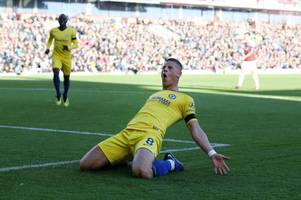 maurizio sarri explains why he benched ross barkley for chelsea against everton