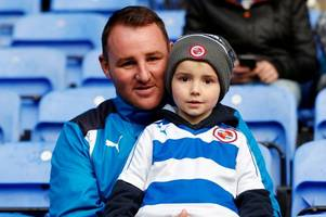 reading fc fans brave the rain to witness four goal thriller with ipswich town