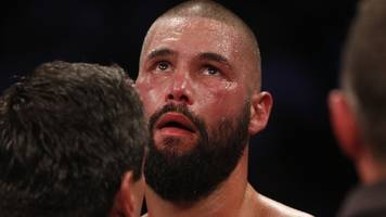 'It's over' - emotional Bellew bows out with defeat by Usyk
