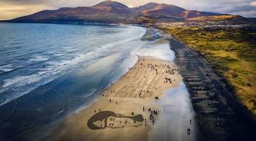 evocative images on northern ireland beaches for armistice