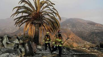 northern ireland woman's relief as home escapes californian wildfires