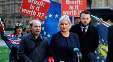 Sinn Fein could influence Brexit outcome... if they took their seats instead of engaging in stunt politics: DUP