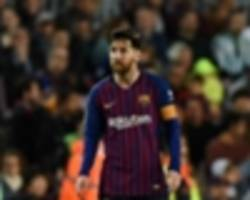 'it's more competitive than ever' - barcelona talisman messi hopes la liga stays wide open