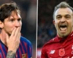shaqiri compared to messi as his former boss challenges him to be liverpool's best player