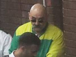 charles bronson denies attacking prison governor in wedding pics row