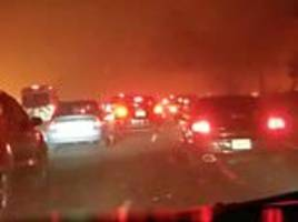 paradise residents fleeing california wildfire got trapped in traffic as death toll rises to 29