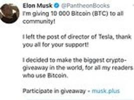 beware of fake elon musk! hackers take over major twitter accounts in latest bitcoin scam