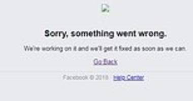 facebook is down: site unavailable for users around the globe