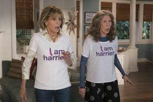 Netflix reportedly had an internal debate after its testing favored 'Grace and Frankie' promos without Jane Fonda