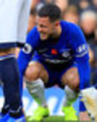 Chelsea star Eden Hazard in major fitness confession after Everton bore draw