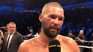 Tony Bellew: Costello and Bunce debate if he should have been interviewed after Usyk defeat