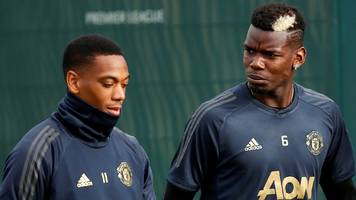 france: manchester united's paul pogba and anthony martial withdraw