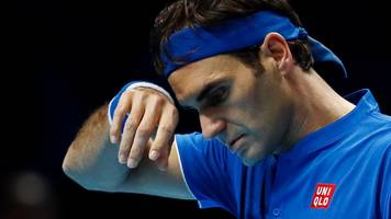 ATP Finals: Roger Federer cancels practice before Dominic Thiem match