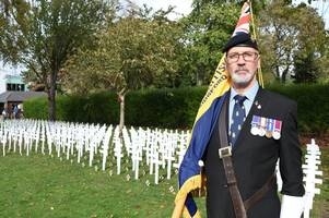 veteran gunner nominated for award to honour his service to the armed forces