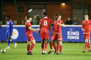 virgil gomis at the double as nottingham forest under-23s beat leicester city in premier league cup