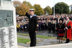 huge turnout as sevenoaks remembers the fallen - 100 years after the end of the first world war