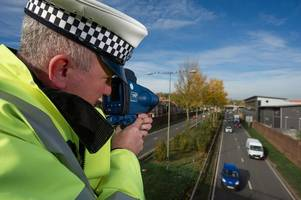 Police spot 46 driving offences on M6 in just 30 minutes