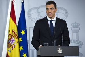 brexit: spanish prime minister pedro sanchez urges theresa may to call fresh referendum
