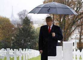 french army mocks trump with pictures of soldiers training in the rain
