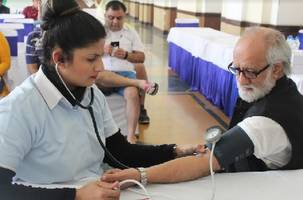 dlf gardencity organizes a special health check up camp ahead of world diabetes day
