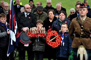 100 years on: west dunbartonshire remembers on armistice day