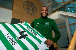 celtic midfielder olivier ntcham's injury revealed as he is ruled out of international duty