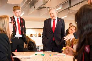 new £32 million state-of-the-art west lothian school officially opened by former prime minister