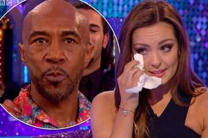 Strictly's Amy cries as Danny John-Jules refuses to appear on It Takes Two