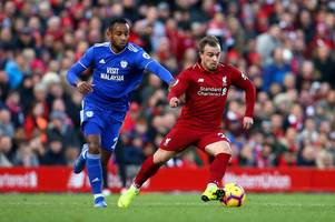 Cardiff City midfielder Loic Damour drops hint that he could leave in January