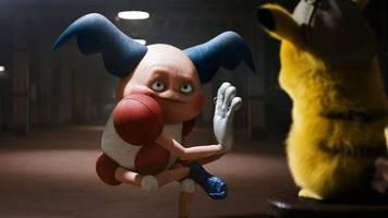 every live-action pokémon in the detective pikachu trailer