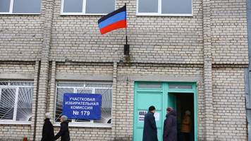 Russian State Media Proclaims the Elections in Donetsk 'Democratic' – Based on Unqualified Observers